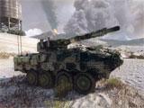 Armored Warfare Camouflaged Tank