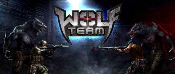 Wolf Team - Transform between being a human and a werewolf and shoot or slash your way to victory in Wolf Team!