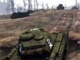 Driving a tank in War Thunder