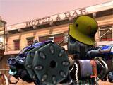Guns and Robots taking aim