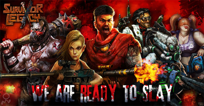 Save humanity from the zombie apocalypse in Survivor Legacy