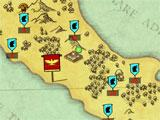 Grow Empire: Rome map