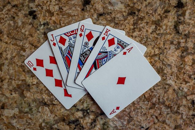 A Royal Flush is the best hand in Texas Hold 'Em