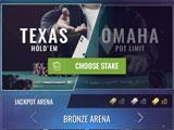 Poker Texas Holdem Live Pro main menu