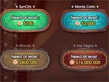 DH Texas Poker main menu