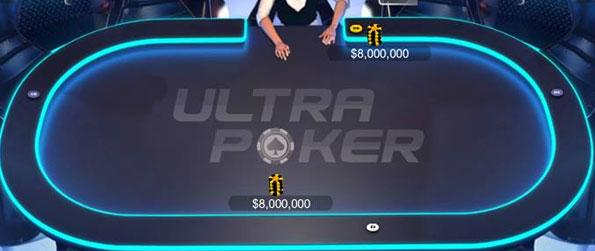 Ultra Poker HD - Play Poker in 3D on Facebook and see if you can walk away with the pot.