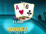 Poker World Two Pair