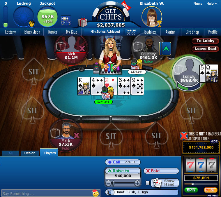 RockYou Poker - Poker Worldz