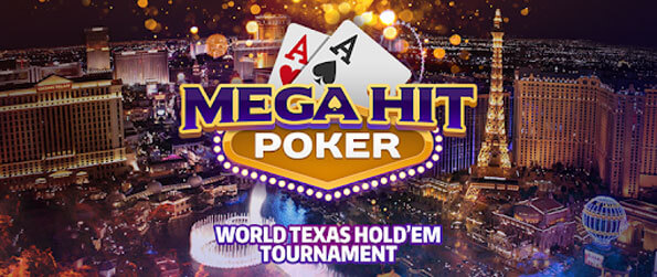Mega Hit Poker - Get a good hand, make the right calls or bluff your way to a win.
