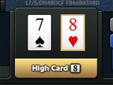 Poker World Tour High Card Hand