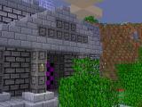 Underground structure in PlayCraft 3D