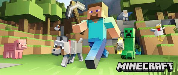 Minecraft - Create masterpieces ranging from lavish homes to magnificent monuments in this timeless, voxel-based, sandbox game, Minecraft!