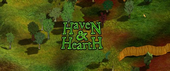 Haven and Hearth - Develop your in-world skills to have a better chance of survival.