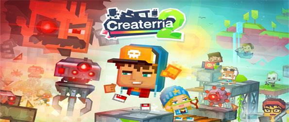 Createrria 2 - Enjoy this spectacular game that'll actually let you create your own very own mini-games.