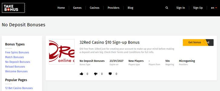 Bonuses for Playing in Online Casinos