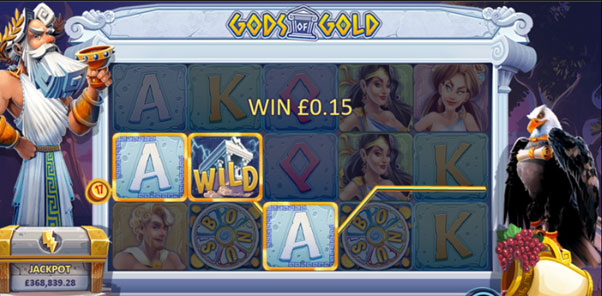 Gameplay in Gods of Gold
