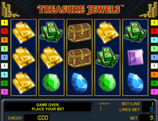 Treasure Jewels slots