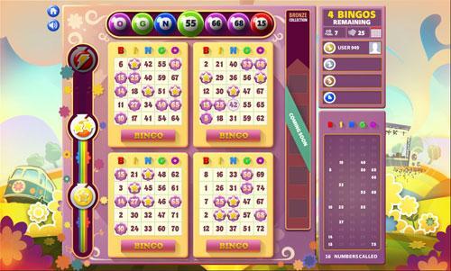 Enjoy Mirrorball Bingo