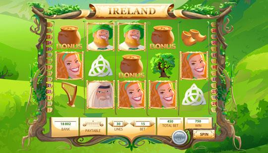 Enjoy Ireland in Slots of Conquest