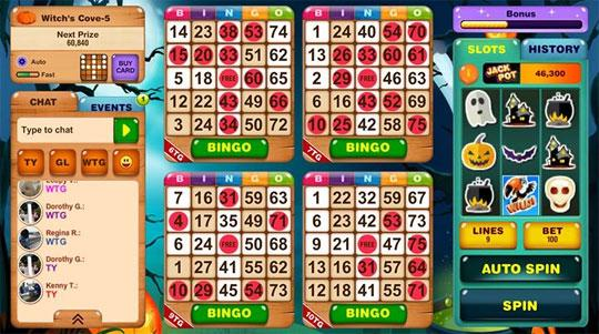 Enjoy the Action in Bingo Island