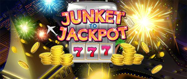 Junket to Jackpot - Free Slots - Treat yourself to a myriad of slot machine games with varying challenges.
