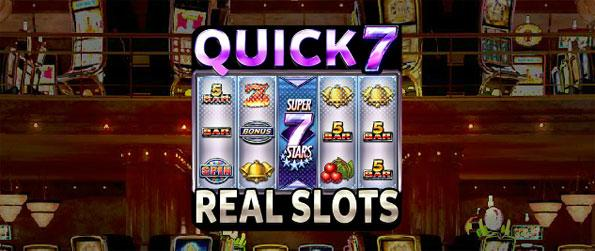 Quick 7 Real Slots - Tap and play the best slot games in Quick 7 Real Slots.