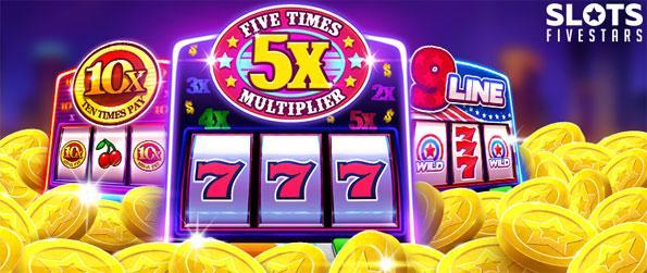 Slots Fivestars - Spin your luck in Slots Fivestars.