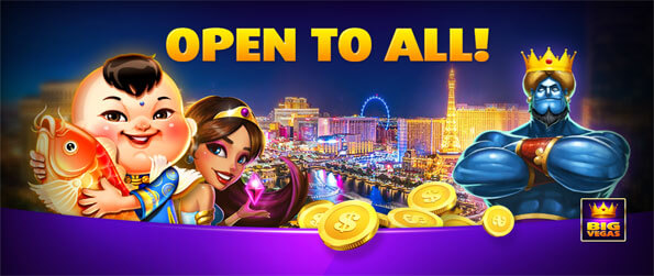 Big Vegas - Bet big to win big in this captivating slots game that you won't be able to let go of.