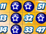 Cannonball Bingo Daubed Numbers