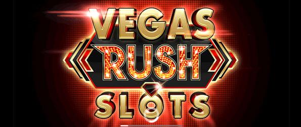 Vegas Rush Slots - Experience the rush of playing high-stakes Vegas slot machines.