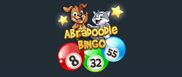 Abradoodle Bingo - Play the cutest Bingo game online with other people or offline by yourself.