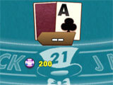 Game Play of Blackjack Maniac