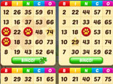 Bingo Farm Ways playing with four cards