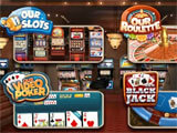 Casino Pro main menu