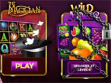 Magician Casino main menu