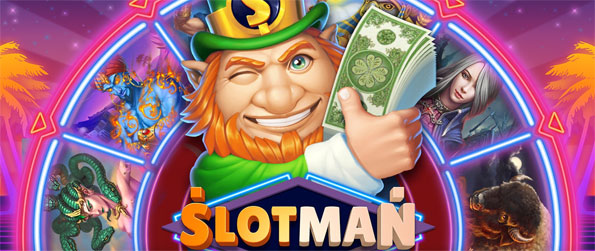 Slotman - Win big in this phenomenal slots game that you can enjoy on the go on your mobile device.