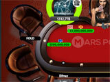 Mars Poker Texas HoldEm Empty Seats
