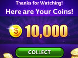 Slots Epic: Watch video ads to get coins