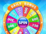 Wizard of Bingo bonus wheel