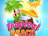 Tropical Beach Bingo World main menu