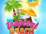 Tropical Beach Bingo World main menu