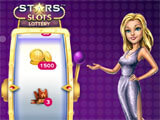 Stars Slots Casino lottery wheel