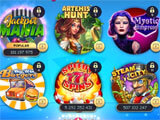 Stars Slots Casino main menu