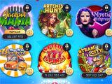 Stars Slots Casino main menu