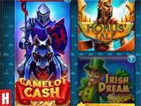 Free Spins Casino by Huuuge Games main menu