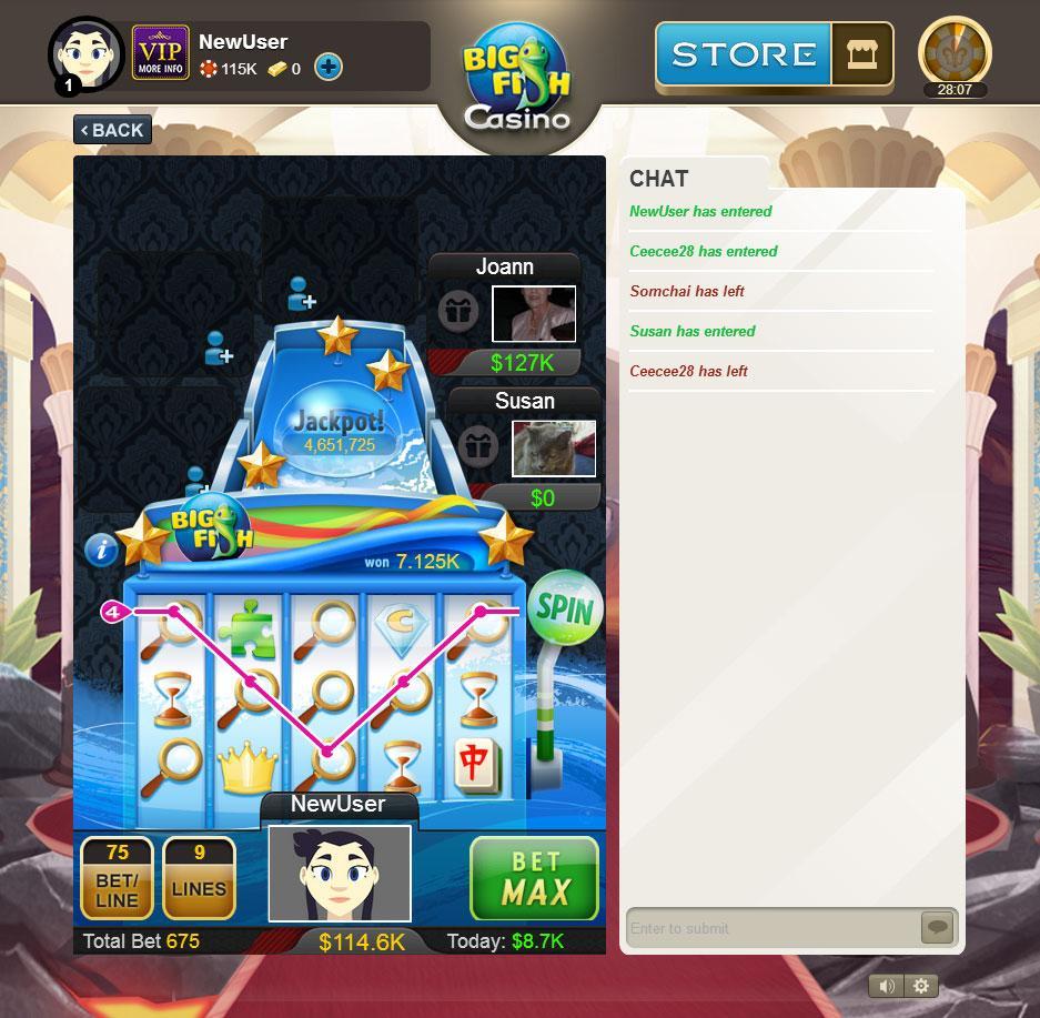Big fish casino slots bingo games for Big fish casino slots