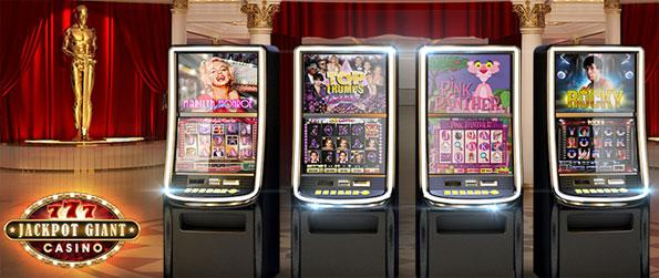 Jackpot Giant Casino - Enjoy a cfun casual slots game with some really nice unique machines to play on.
