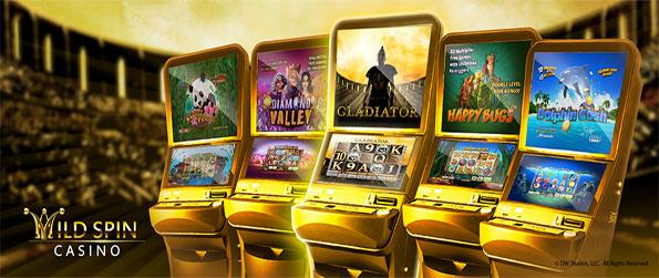 Wild Spin Casino - Enjoy a fun new slots game with some brilliant machines and a lot of chances to win.