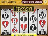 Character Bingo Poker Slots Mini Game