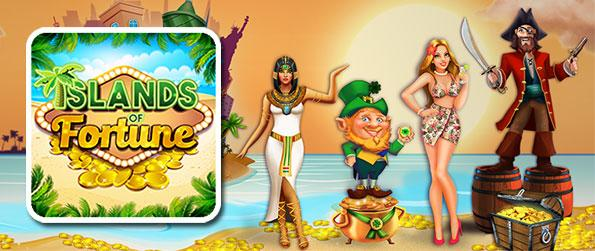 Island of Fortune - Take gambling to new heights as you play over the collection of bet games like slots and bingo in this exciting facebook game.
